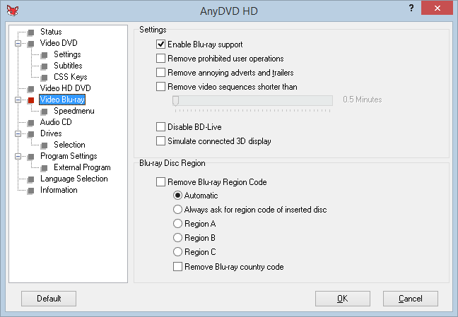 AnyDVD HD Crack Keygen