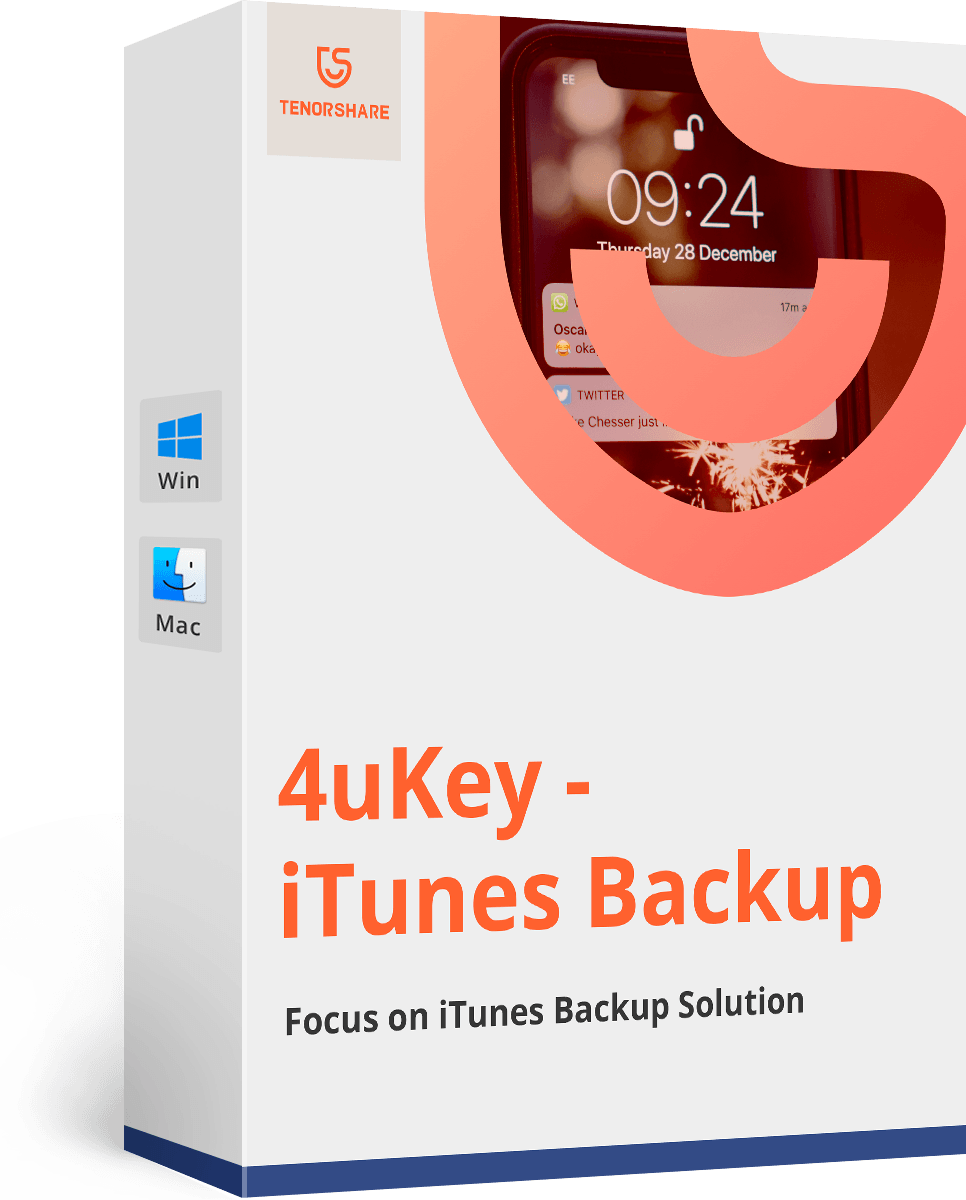 Tenorshare 4uKey iTunes Backup Key