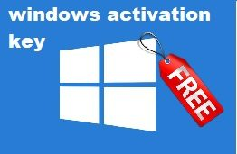 Windows Activation Key
